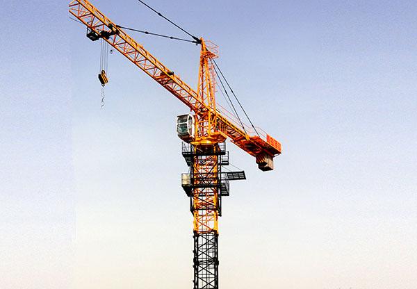 我国塔吊机械在国外的使用