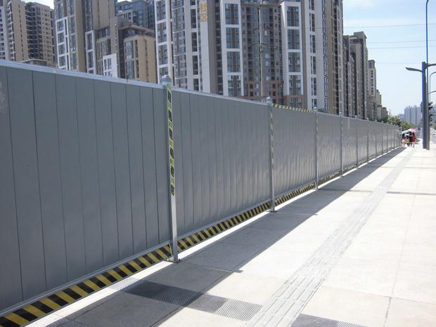 建筑围挡的安装设置规范